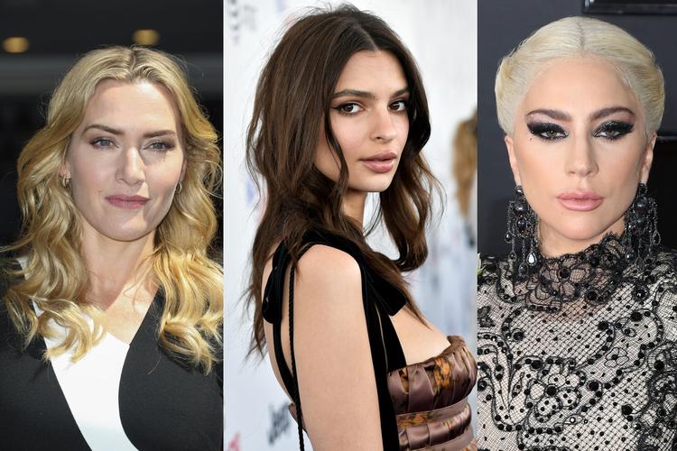 Emily Ratajkowski, Kate Winslet, Lady Gaga