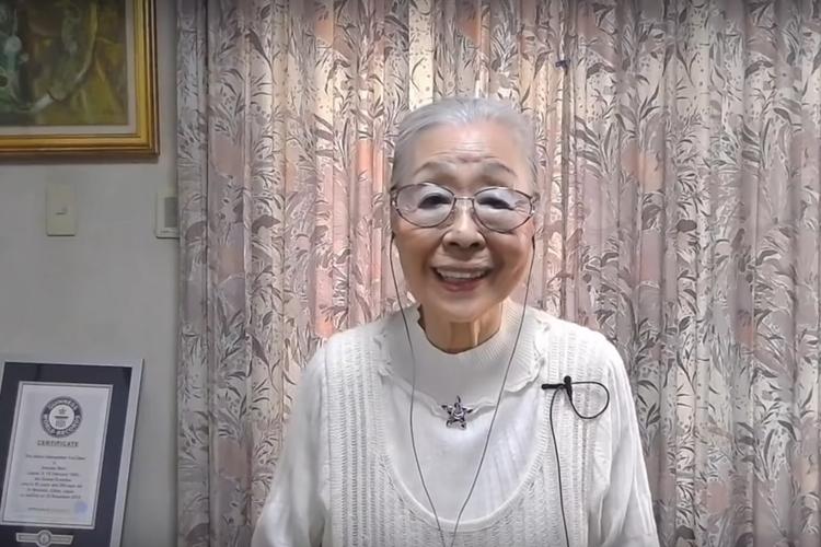 90-letnia streamerka