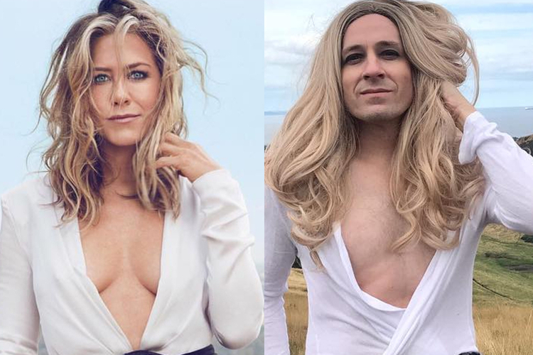 Tommy Lenk i Jennifer Aniston