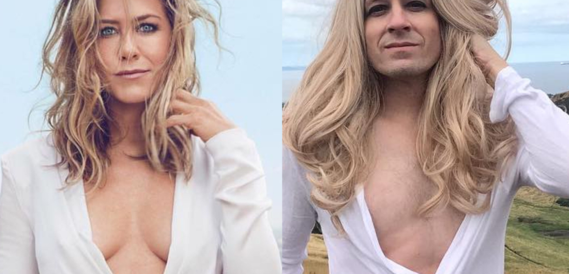 Tommy Lenk i Jennifer Aniston