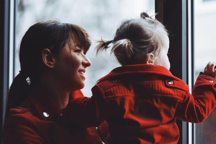 Ania Lewandowska z córką Klarą
