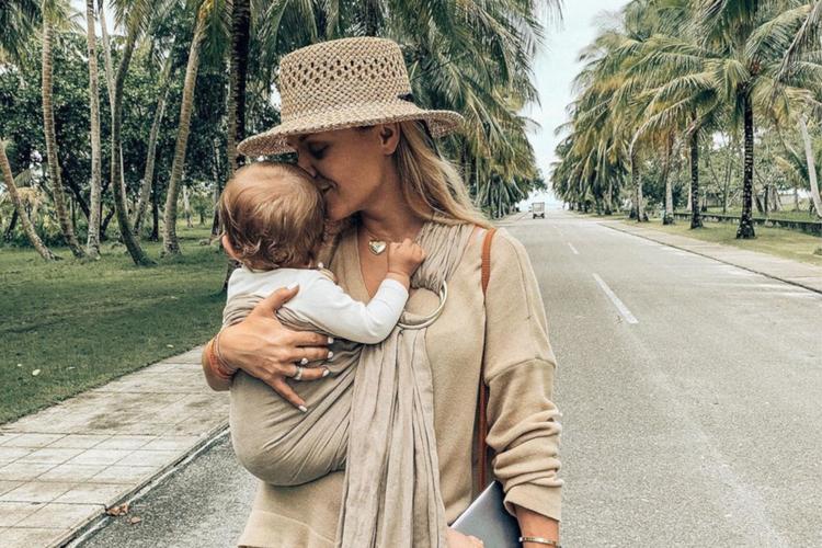 Anna Skura na wakacjach ze swoją córeczką Melody