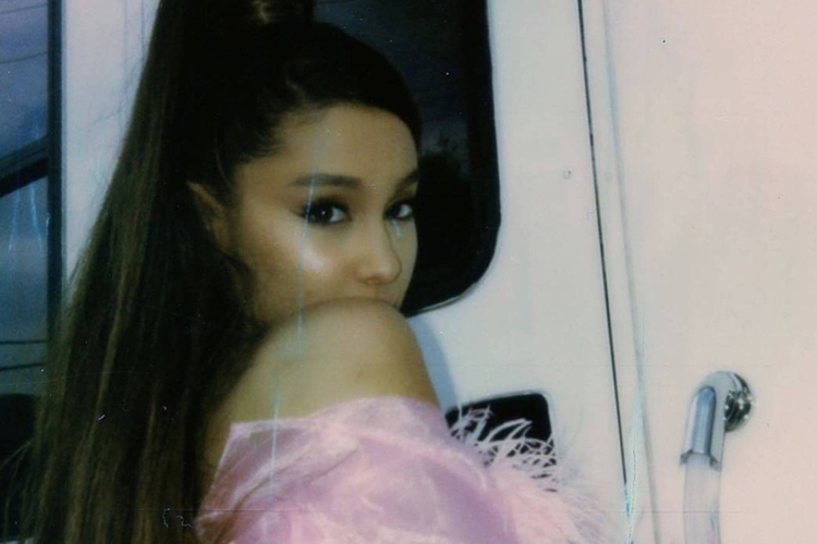 Ariana Grande - zdjęcie z jej instagrama