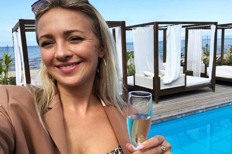 Barbara Kurdej-Szatan pokazała szampańską zabawę.