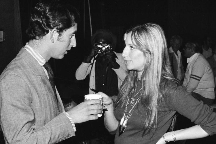 Barbra Streisand i książę Karol