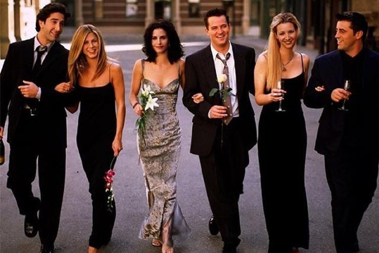 "Kadr z serialu ""Friends"""