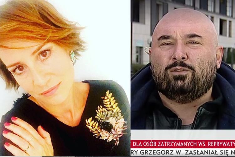 Maja Ostaszewska i Patryk Vega