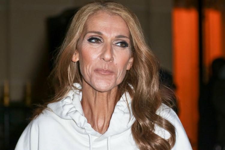 Celine Dion w nowej fryzurze