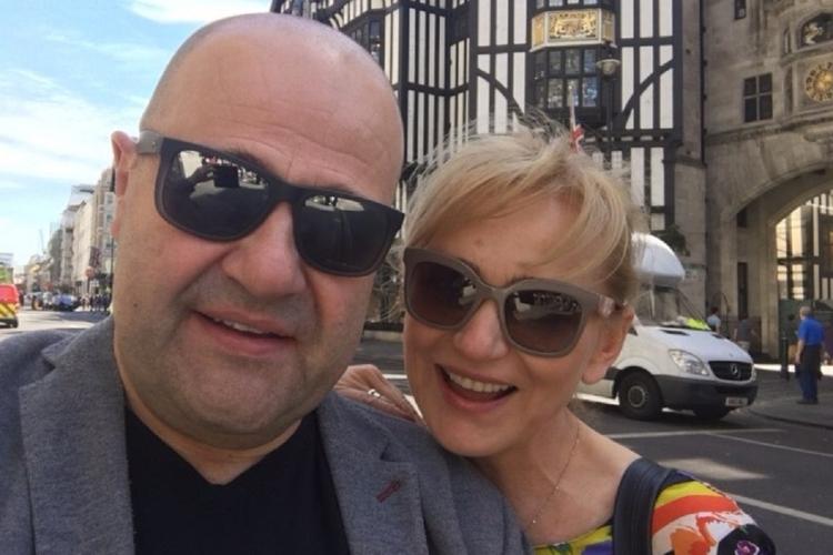 Cezary Żak i Katarzyna Żak na wakacjach.