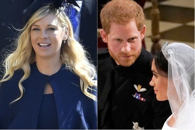 Chelsy Davy, książę Harry i księżna Meghan