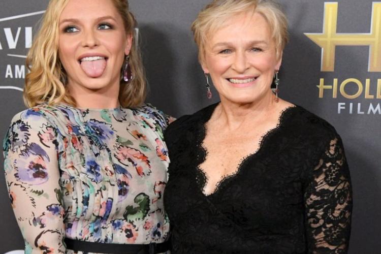Glenn Close z córką