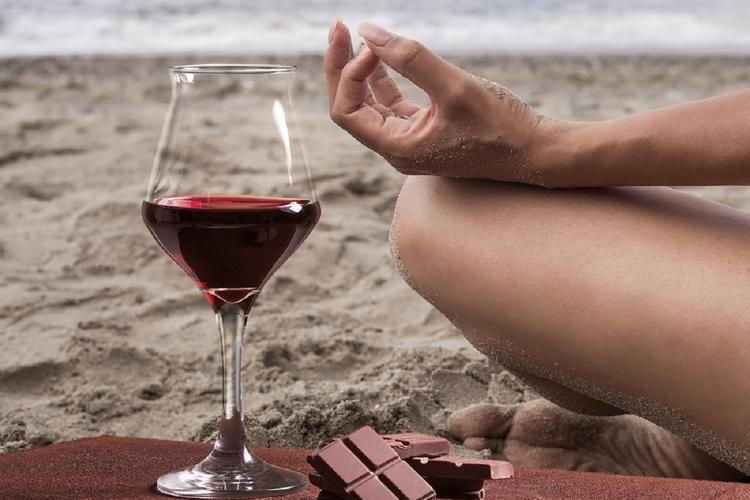 Wino i czekolada - prozdrowotne działanie