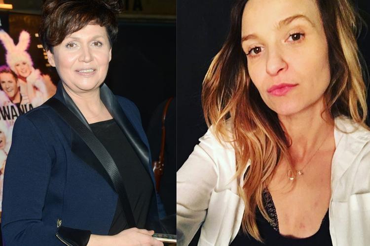 Małgorzata Pieńkowska i Joanna Koroniewska