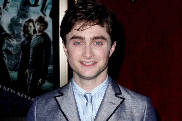 """Daniel Radcliffe w 2009 roku na premierze filmu """"Harry Potter"""""""
