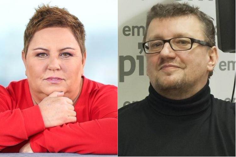 Dorota Wellman i Jacek Piekara