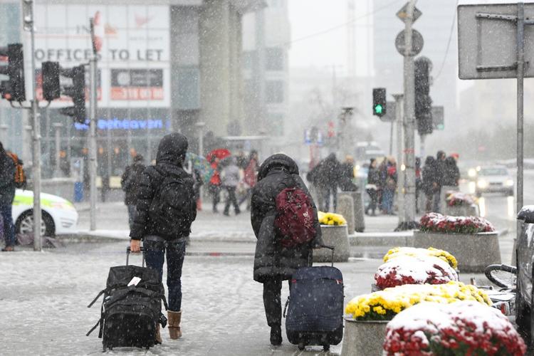 załamanie pogody i atak zimy