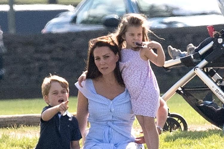 Księżna Kate, George i Charlotte