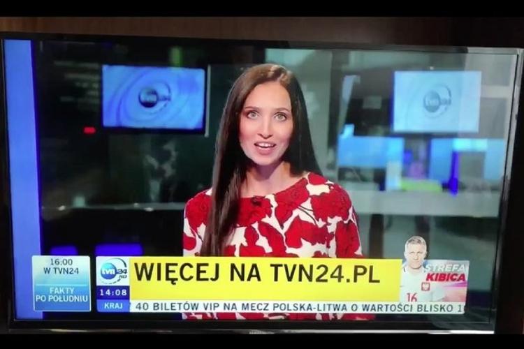Dziennikarka TVN24