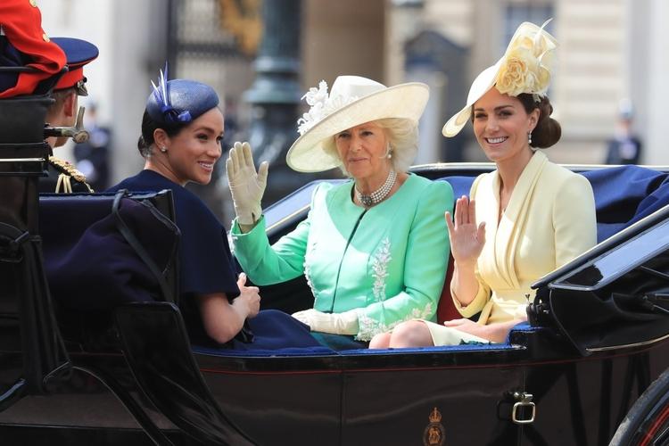 Księżna Camilla i księżna Meghan