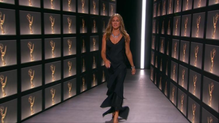 Emmy 2020 Jennifer Aniston Jennifer Aniston podczas Emmy 2020