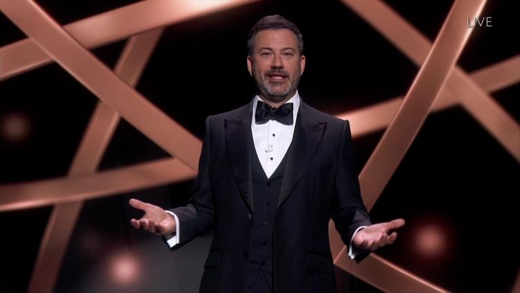 Emmy 2020 Jimmy Kimmel Jimmy Kimmel podczas Emmy 2020