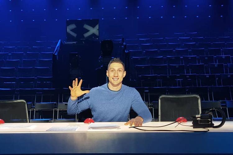 """Patryk Nieklań w programie """"Mam talent"""""""