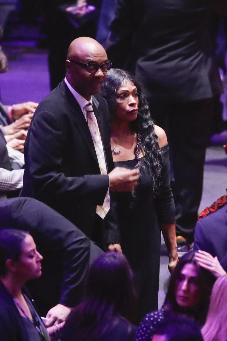 rodzice Kobego Bryanta Rodzice Kobego Bryanta