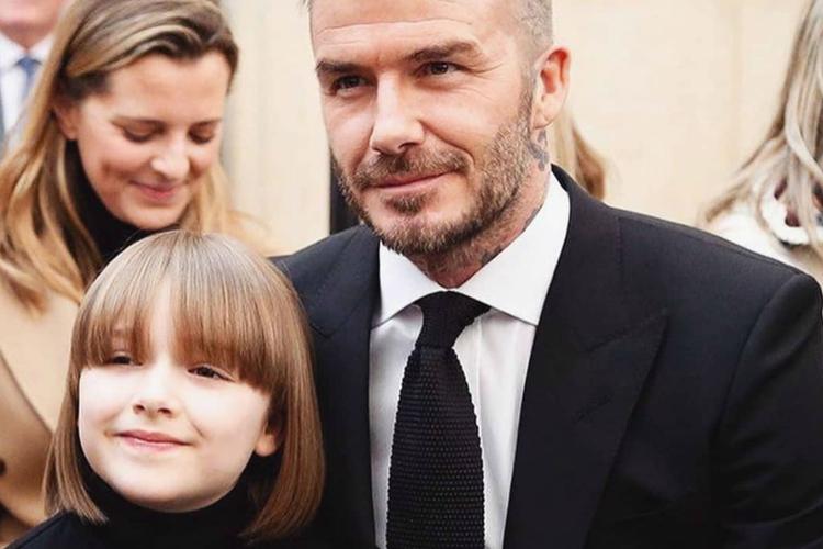 Harper i David Beckham