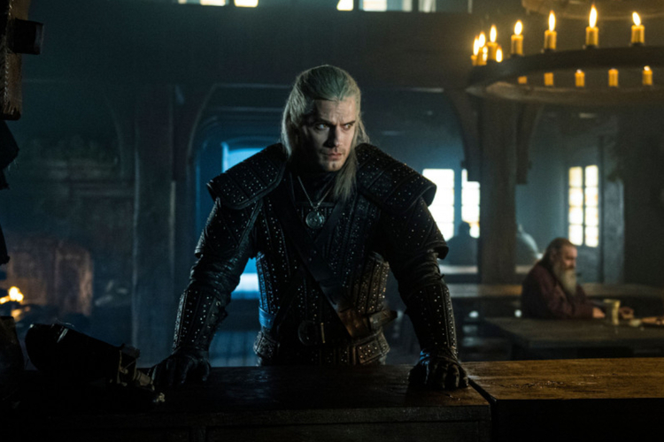 "Henry Cavill jako Geralt z Rivii w serialu ""Wiedźmin"""