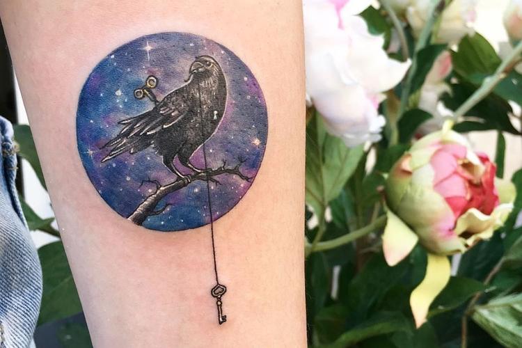 Okrągłe tatuaże