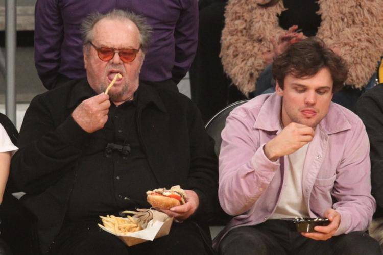 Jack Nicholson z 26-letnim synem