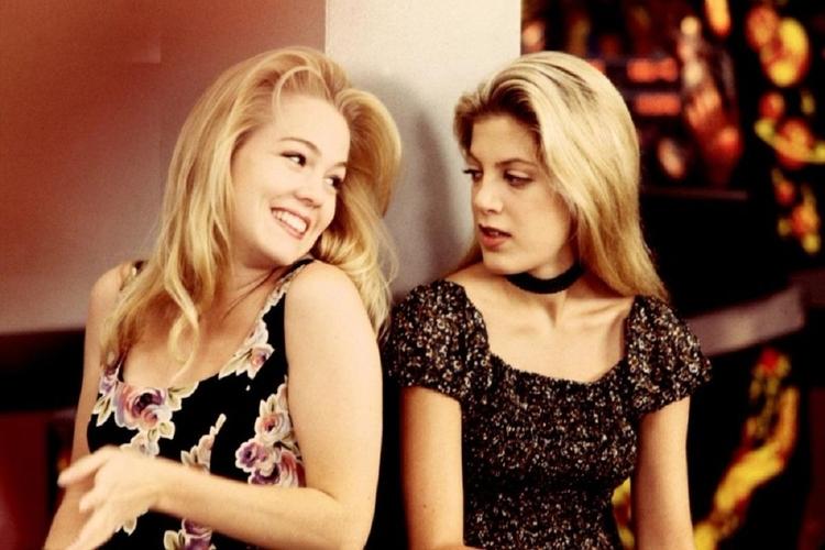 Jennie Garth i Tori Spelling