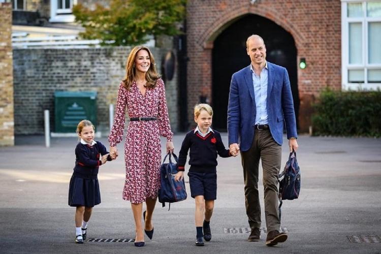 Jakie są prywatnie dzieci Williama i Kate?