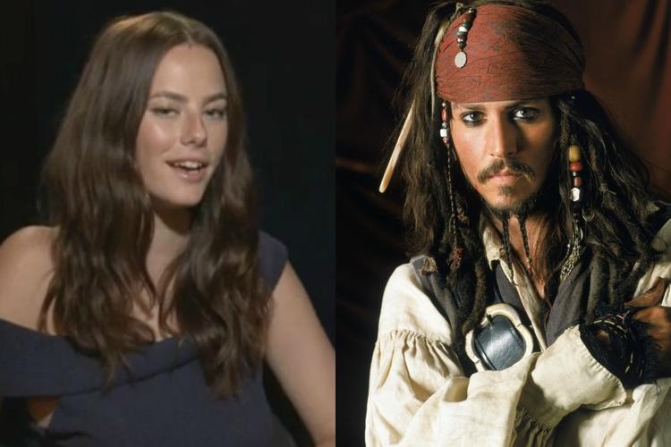 Kaya Scodelario, Johnny Depp