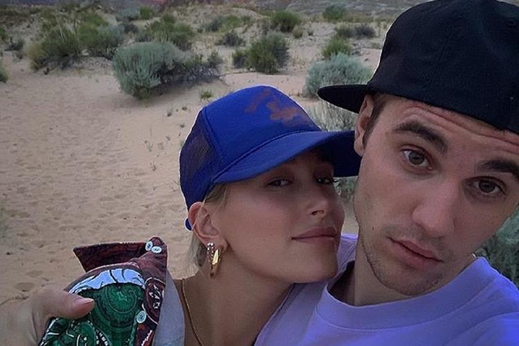 Justin Bieber z żoną