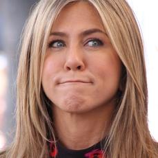 Zakłopotana Jennifer Aniston