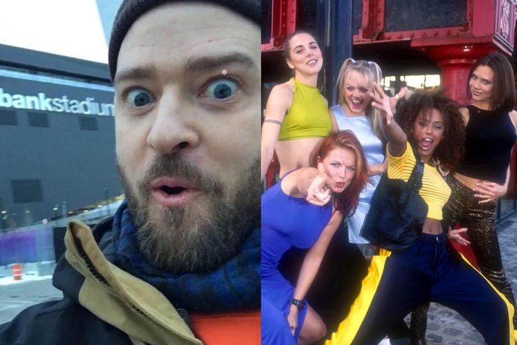 Justin Timberlake Spice Girls