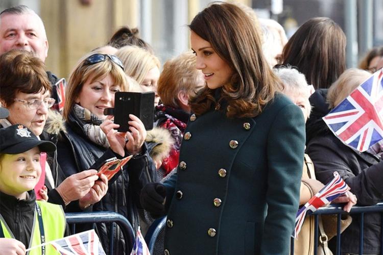 Księżna Kate w Sunderland