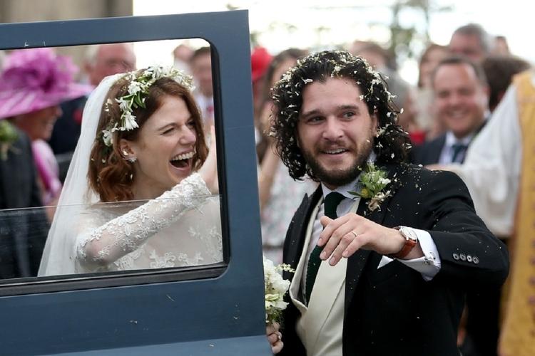 Kit Hurington i Rose Leslie - ślub
