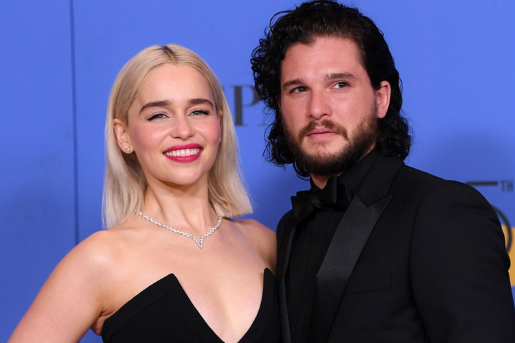 EMILIA CLARKE, KIT HARINGTON,