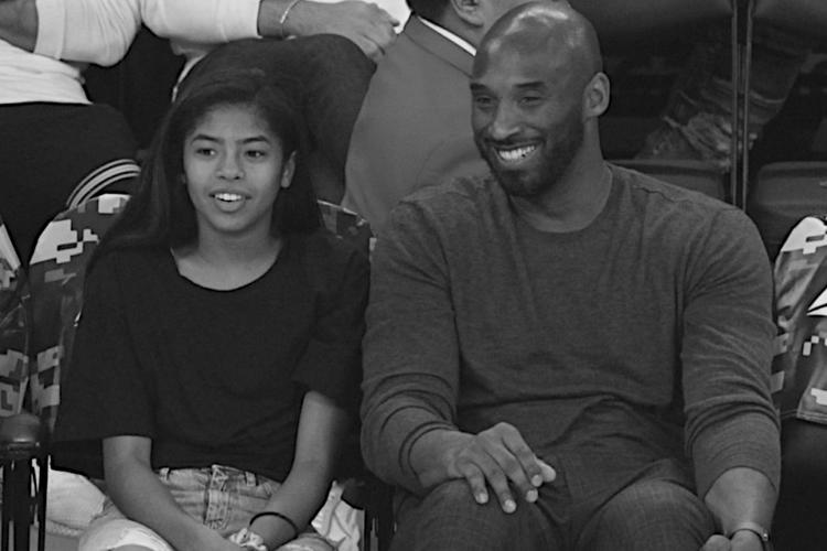 Kobe Bryant i jego córka Gianna