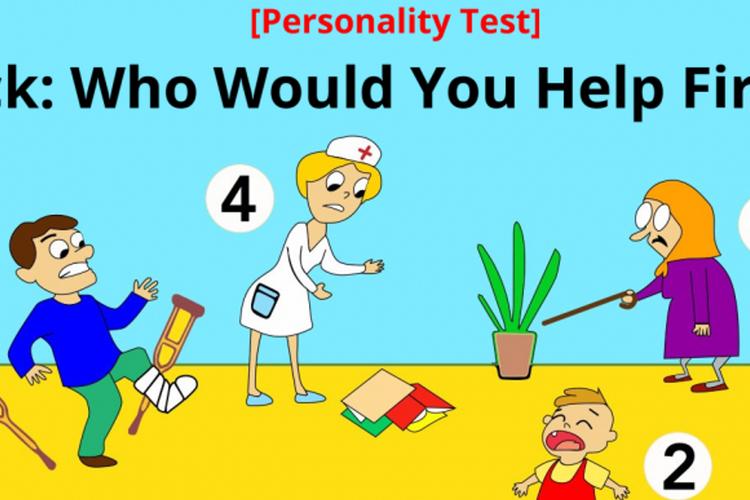 Komu pomożesz jako pierwszemu?
