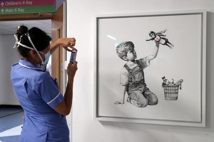 Nowa praca Banksy'ego
