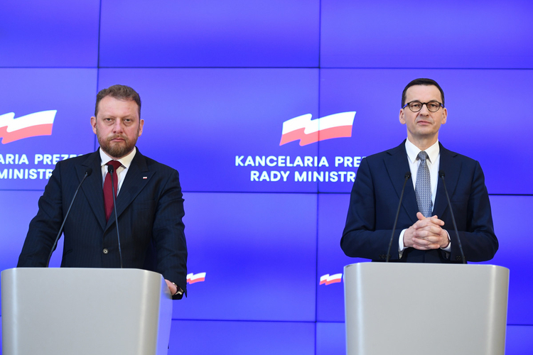 Konferencja premiera Polski