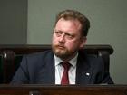 Minister zdrowia Łukasz Szumowski na obradach sejmu