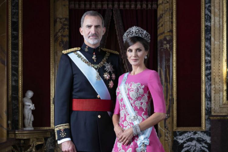 Król Filip i królowa Letizia