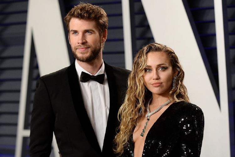 Miley Cyrus i Liam - ostatnie wspólne nagranie.