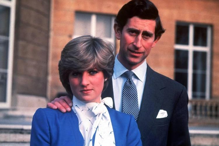 Księżna Diana i książę Karol oficjalna sesja