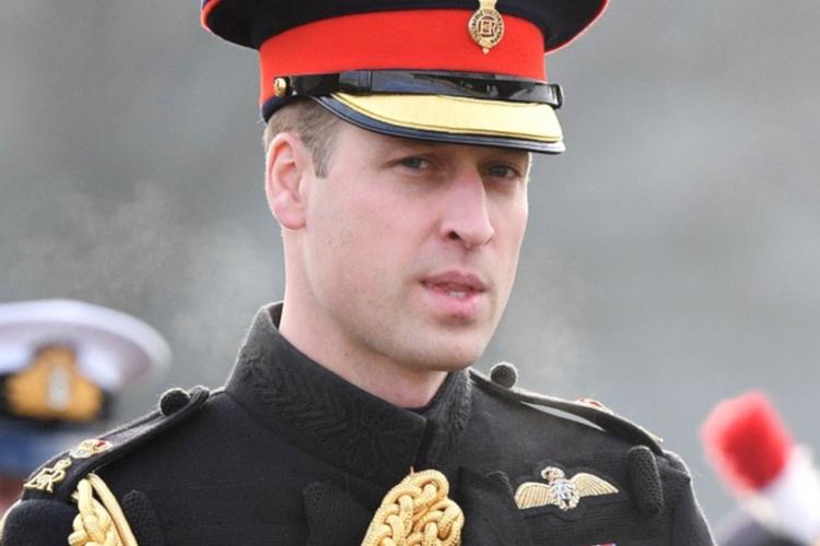 Książę William w mundurze