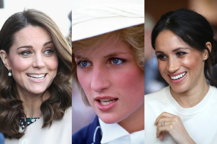 Księżna Kate, księżna Diana, Meghan Markle